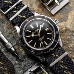 ZULUDIVER Perlon Watch Strap with Adjustable Buckle