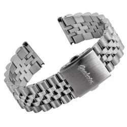 Classic Warrington Stainless Steel Watch Strap