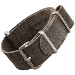 ZULUDIVER 335 Genuine Leather NATO Watch Band