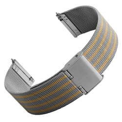 Estia Quick-Release Fine Milanese Mesh Stainless Steel  Watch Strap
