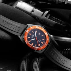 Delma Shell Star Black Tag Limited Edition Divers Watch