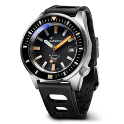 SQUALE MATIC Swiss Made Divers Watch with Brushed Case