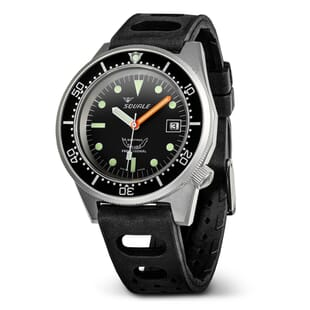 Squale 1521 026 Divers Watch with Blasted Case