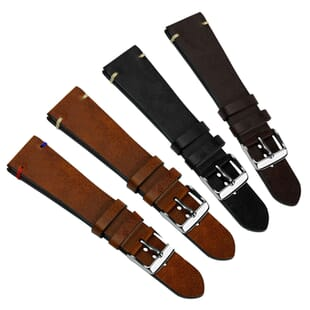 Vintage Winchester Traditional Genuine Leather Watch Strap