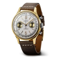 Geckota W-02 Vintage Mechanical Chronograph Dress Watch