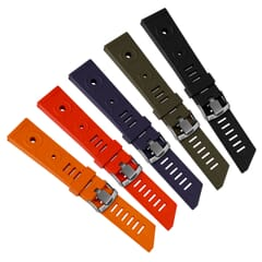 ZULUDIVER 281 Italian Rubber Watch Strap