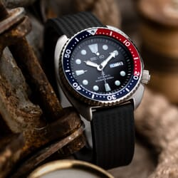 ZULUDIVER 400 (MKII) Italian Rubber Divers Watch Strap