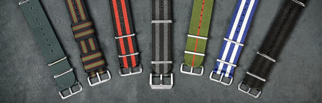 How to install a NATO watch strap band