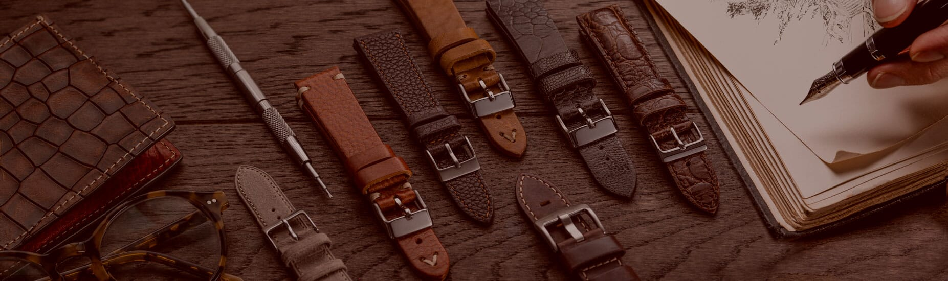 Suede Watch Straps
