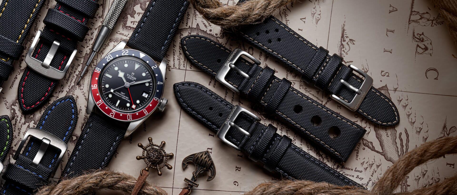 Sailcloth Watch Straps