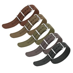 ZULUDIVER Vintage Canvas NATO Watch Strap