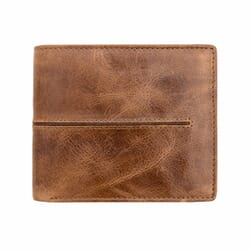 Woodsman Genuine leather Men's Wallet With RFID Protection