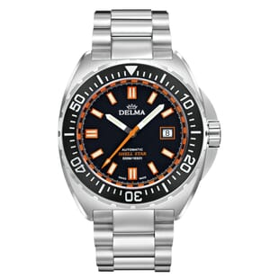 Delma Shell Star Automatic ETA 2824-2 Divers Watch