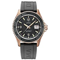 Delma Santiago Automatic Divers Watch On Rubber Strap