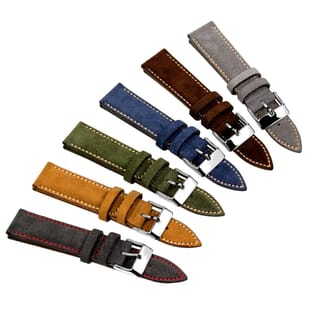Chedworth Suede Premium Handmade Watch Strap