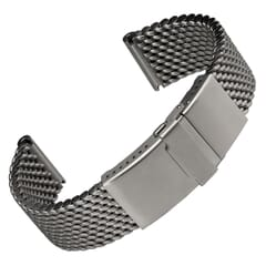 German Thick 316L Stainless Premium Mesh Watch Strap