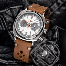 Handmade Classic Flat Vintage Racing Watch Strap