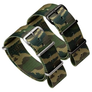 ZULUDIVER Camouflage NATO Military Watch Strap