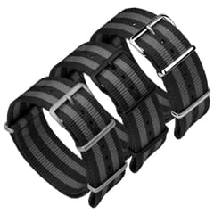 ZULUDIVER Classic Bond Nylon NATO Watch Band