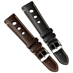 Ginosa Handmade Genuine Leather Rally Watch Strap