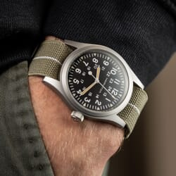 ZULUDIVER French Style Elastic NATO Watch Strap