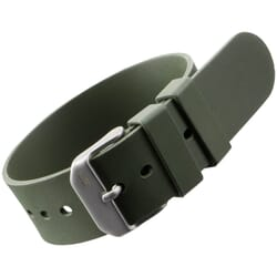 ZULUDIVER 298 Italian Rubber One Piece Watch Strap