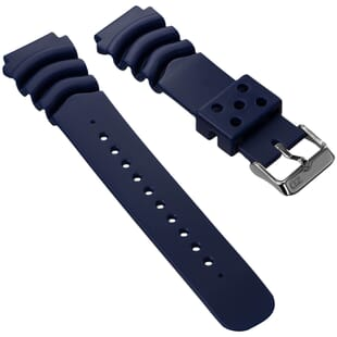 ZULUDIVER PVC Z Type Rubber Dive Watch Strap