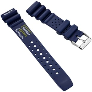 ZULUDIVER PVC NDL Type Rubber Watch Strap