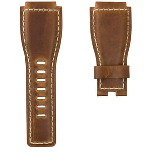 Bell & Ross® BR01 Compatible Genuine Leather Watch Strap