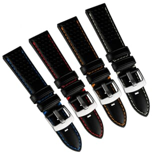 Jonathan GP 298 Perforated Genuine Leather Watch Strap