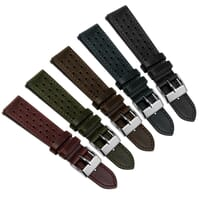 Lenchwick Racing Genuine Horween Leather Watch Strap