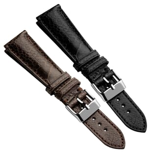 Highley Genuine Ostrich Leg Leather Watch Strap