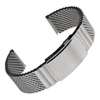 German Diver 316L Stainless Steel Mesh Watch Strap