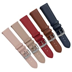 Spirano Quick Release Genuine Leather Watch Strap