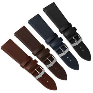 Solza Quick Release Genuine Leather Watch Strap