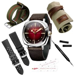 Geckota G-01 300M 1950's NH35 Dive Watch Gift Set
