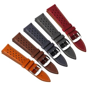 Dartford Genuine Leather Racing Watch Strap
