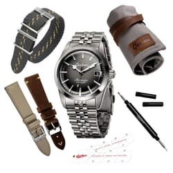 Geckota E-01 ETA 2824 Ronda 715 Sports Watch Gift Set