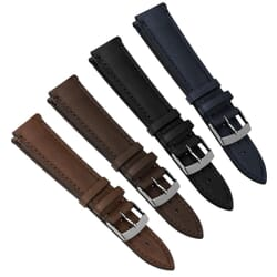 Leno Handmade Genuine Calf Skin Leather Watch Strap
