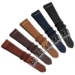 Four Oaks Vintage Quick Release Watch Strap