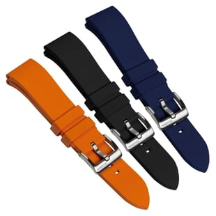 Zennor Quick Release FKM Rubber Watch Strap by ZULUDIVER