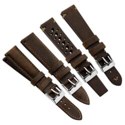 Genuine Vintage Kudu Leather Watch Strap by Geckota