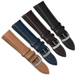 Naxos Premium Recycled Leather Fiber Watch Strap