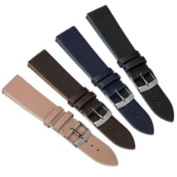 Zane Saffiano Recycled Leather Fiber Watch Strap