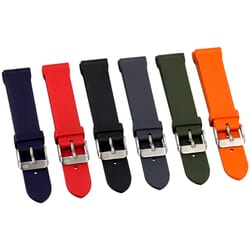 ZULUDIVER 306 Waterproof Rubber Watch Strap