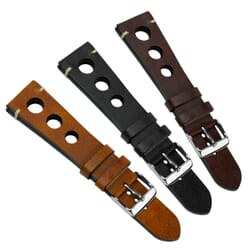 Vintage Prescott Rally Genuine Leather Watch Strap
