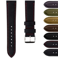 Nylon Sport B-2 Leather Lined Watch Strap by Geckota