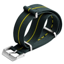 Grey / Yellow Stripe