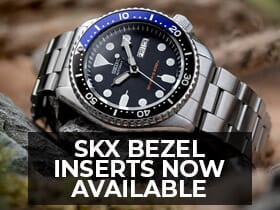 skx bezel inserts from watchgecko
