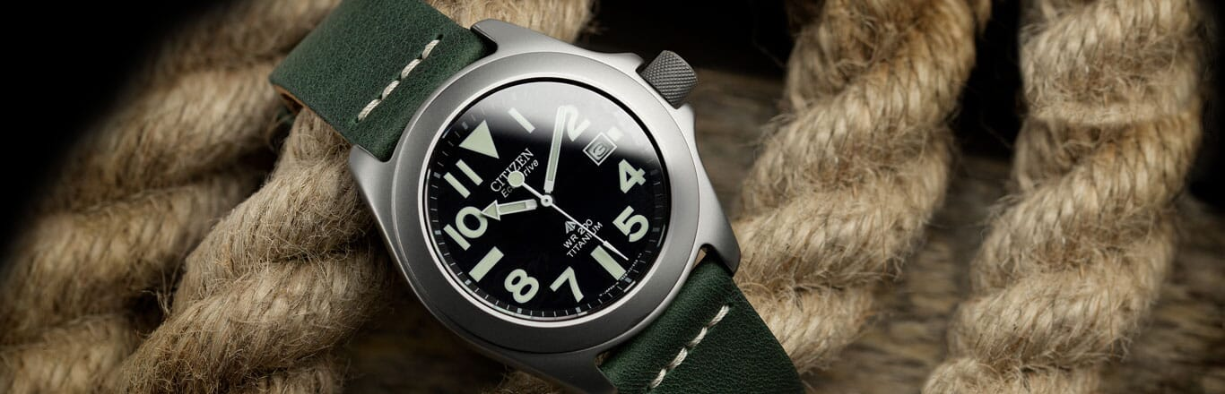 The Ray Mears Citizen Promaster Tough - Issue Number 001...